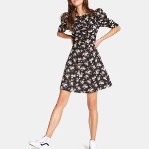 NWT La Vie Rebecca Taylor Posey Print Dress